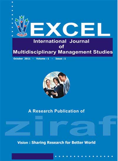 EXCEL INTERNATIONAL JOURNAL OF MULTIDISCIPLINARY MANAGEMENT STUDIES